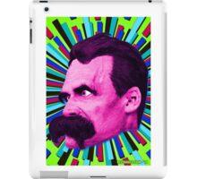 Nietzsche Burst 8 - by Rev. Shakes iPad Case/Skin