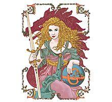 Sword of Gaia's Globe Photographic Print