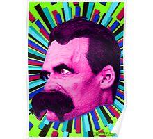 Nietzsche Burst 8 - by Rev. Shakes Poster