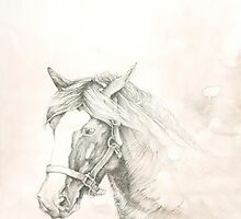 Chinese Zodiac - The Horse by KirstenOnRedB