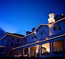 Stanley Hotel at Twilight Circa 2010 by Jesse Diaz