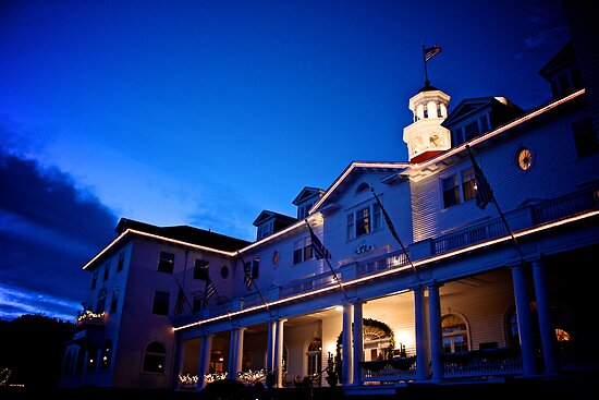 Stanley Hotel at Twilight Circa 2010 by Jesse Diaz