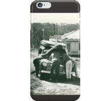 Car trouble 1963. iPhone Case/Skin