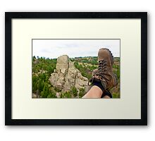 Wyoming Hike  Framed Print