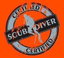 Certified Scuba Diver Kids Clothes