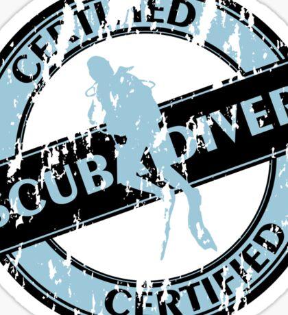 Certified Scuba Diver Sticker