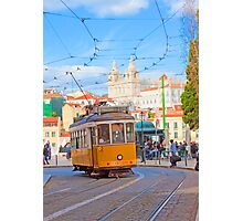 28. tram in Lisbon Photographic Print