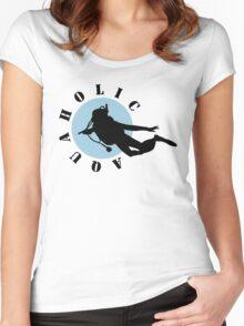 Aquaholic Women's Fitted Scoop T-Shirt