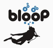 Diving: bloop Baby Tee
