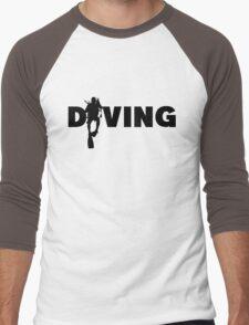 Diving Men's Baseball ¾ T-Shirt