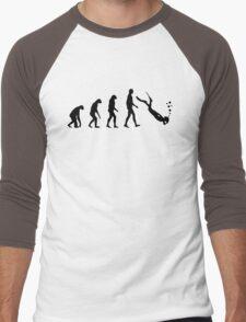 Evolution dive Men's Baseball ¾ T-Shirt