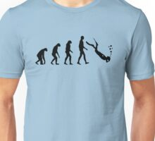 Evolution dive Unisex T-Shirt