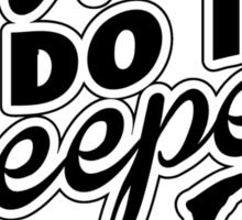 Divers do it deeper Sticker