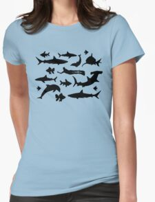 Diving Shirt Underwater Womens Fitted T-Shirt