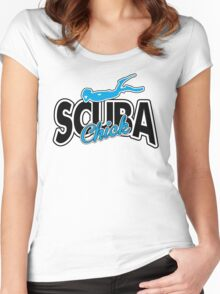 Scuba Chick Women's Fitted Scoop T-Shirt