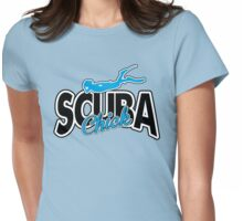 Scuba Chick Womens Fitted T-Shirt