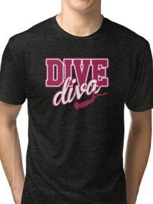 Dive Diva Tri-blend T-Shirt