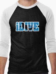 iDive Men's Baseball ¾ T-Shirt