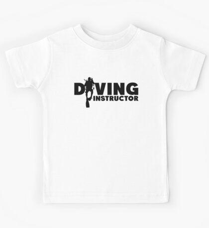 Diving Instructor Kids Tee