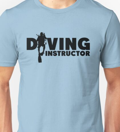 Diving Instructor Unisex T-Shirt