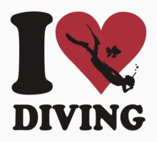I love diving by nektarinchen