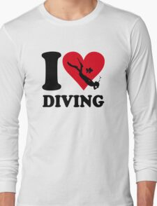 I love diving Long Sleeve T-Shirt