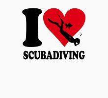I love scubadiving Unisex T-Shirt