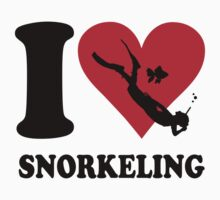 I love snorkeling One Piece - Long Sleeve