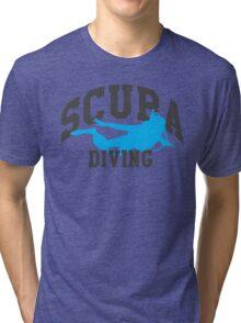 Scuba Diving Tri-blend T-Shirt