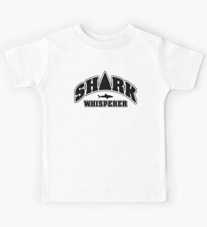 Shark whisperer Kids Tee