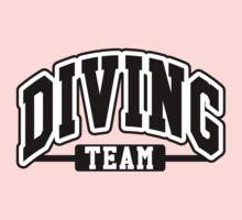Diving Team One Piece - Short Sleeve