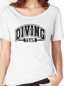 Diving Team Women's Relaxed Fit T-Shirt