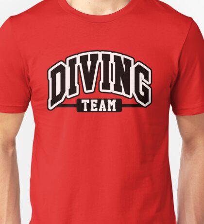 Diving Team Unisex T-Shirt