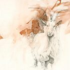 Chinese Zodiac - The Goat by KirstenOnRedB