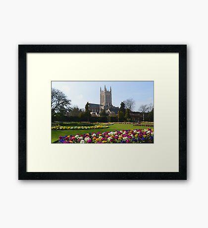 St Edmundsbury Cathedral Framed Print