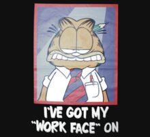 Garfield workface on by shahidk4u