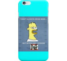 Homer's Beer iPhone Case/Skin