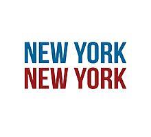New York New York Photographic Print