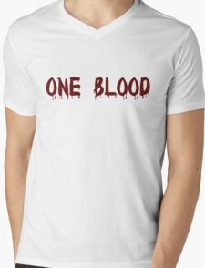 One Blood Mens V-Neck T-Shirt