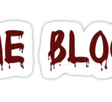 One Blood Sticker