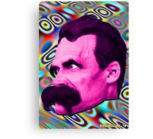 Nietzsche Mix 2 - by Rev. Shakes Canvas Print