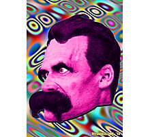 Nietzsche Mix 2 - by Rev. Shakes Photographic Print