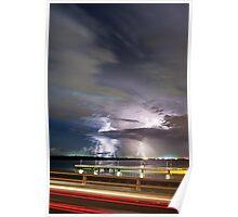 Elizabeth Bridge Storm Poster
