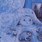 NIGHTSCARES by Sally Barnett