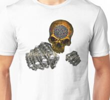 Celtic skull encrusted  Unisex T-Shirt