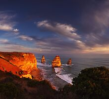 Light on the Apostles - Great Ocean Road Victoria by Mark Shean