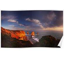 Light on the Apostles - Great Ocean Road Victoria Poster