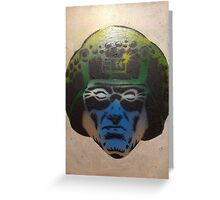 Dave Gibbon's Rogue Trooper in colour Greeting Card
