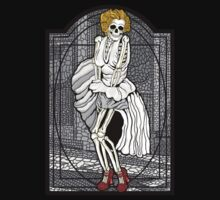Stained glass Marilyn BW by ZugArt