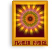 flower power Canvas Print